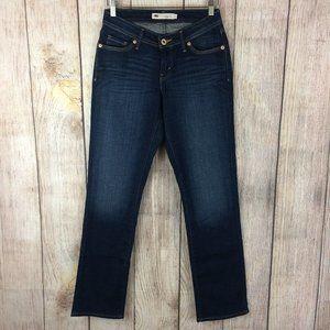 Levi's 529 Curvy Straight Leg Stretch Jeans Sz 4
